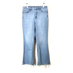 Uniqlo Jeans Skinny Fit High-Rise Flare 4/30x27